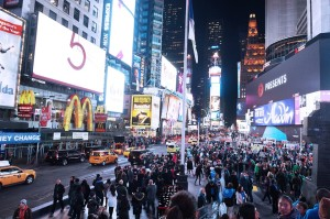 New York City – Times Square – Night